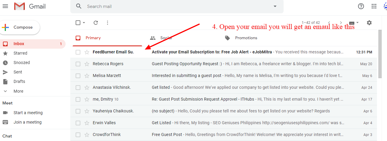 Get Free Job Alerts in Your Email – Subscribe Free 1