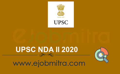 UPSC NDA II 2020 Apply Online