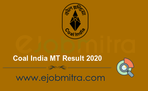 Coal India MT Result 2020