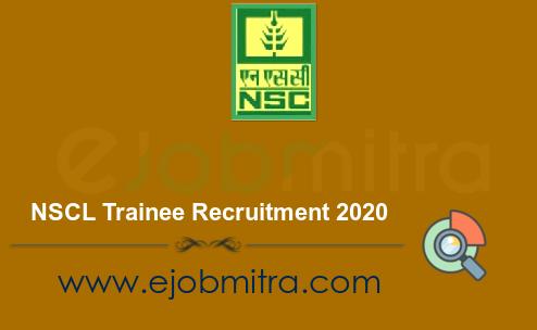 NSCL Trainee Recruitment 2020