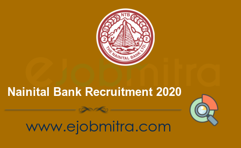 Nainital Bank Recruitment 2020 - 30 Specialist Officer Posts