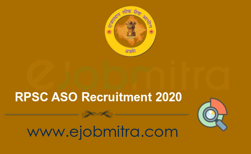 RPSC ASO Recruitment 2020