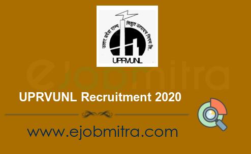 UPRVUNL Recruitment 2020 | Apply Online for 353 Posts