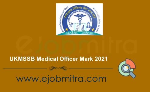 UKMSSB Medical Officer Mark 2021