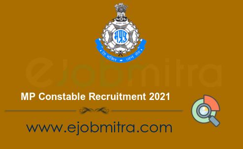 MP Constable Recruitment 2021