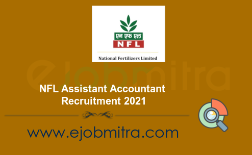 NFL Assistant Accountant Recruitment 2021