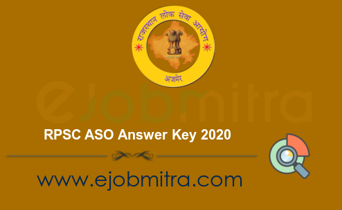 RPSC ASO Answer Key 2020