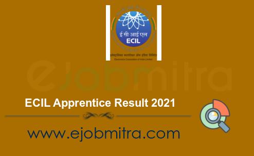 ECIL Apprentice Result 2021