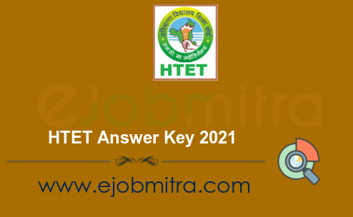 HTET Answer Key 2021