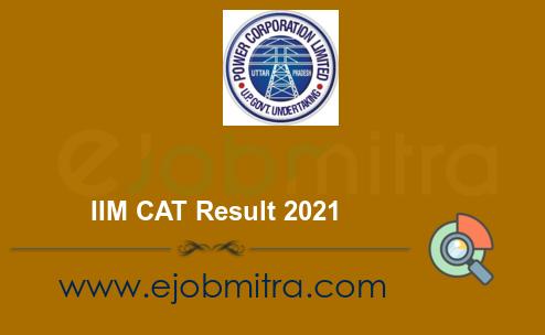 IIM CAT Result 2021