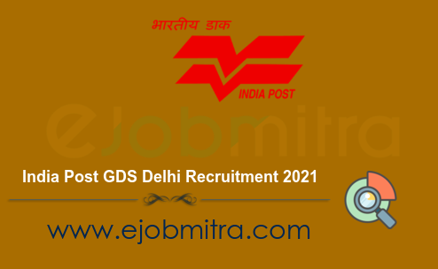 India Post GDS Delhi Recruitment 2021