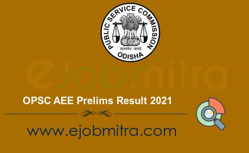 OPSC AEE Prelims Result 2021