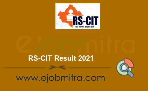 RS-CIT Result 2021