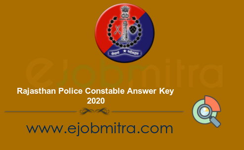 Rajasthan Police Constable Answer Key 2020