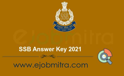 SSB Answer Key 2021
