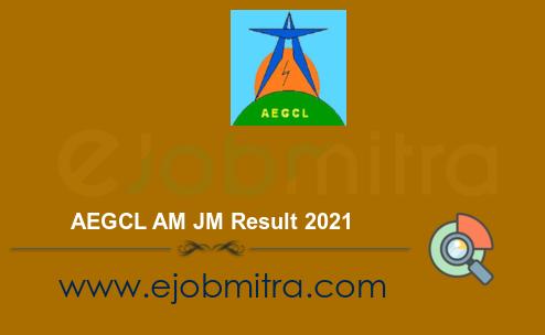 AEGCL AM JM Result 2021