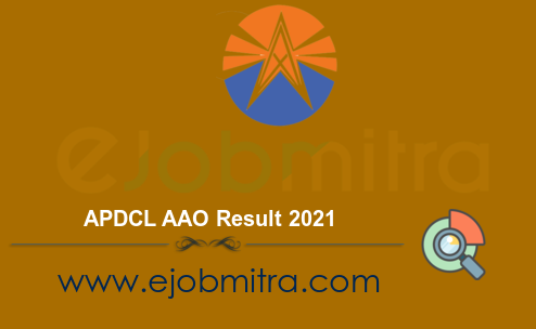 APDCL AAO Result 2021