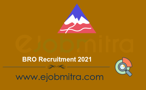 BRO Recruitment 2021