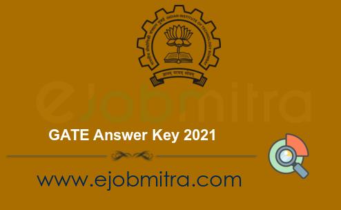 GATE Answer Key 2021