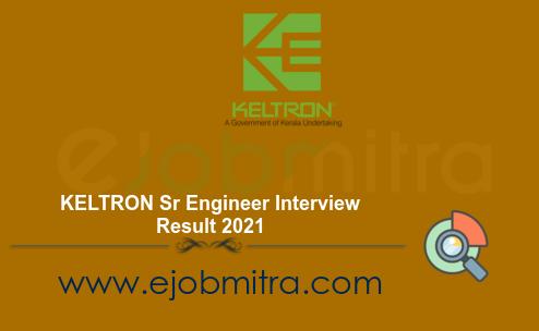 KELTRON Sr Engineer Interview Result 2021