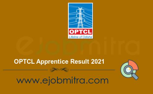 OPTCL Apprentice Result 2021