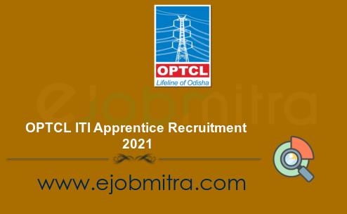 OPTCL ITI Apprentice Recruitment 2021