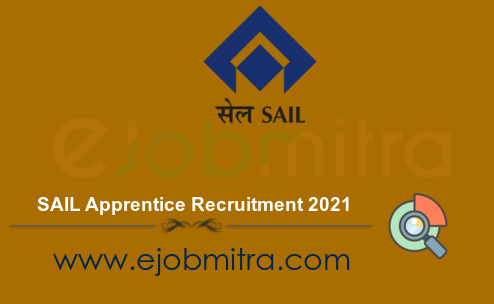 SAIL Apprentice Recruitment 2021