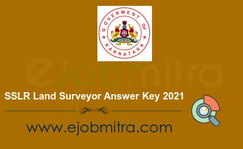 SSLR Land Surveyor Answer Key 2021