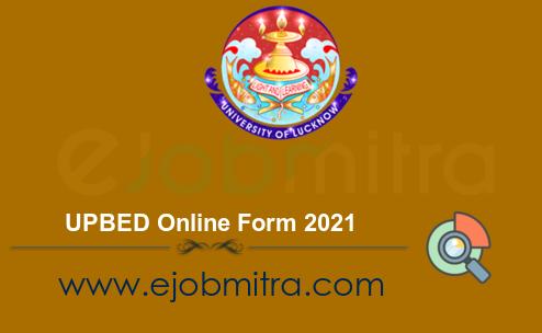 UPBED Online Form 2021
