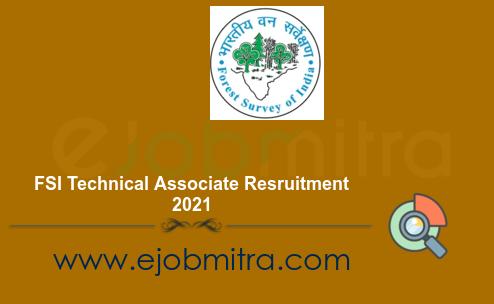 FSI Technical Associate Resruitment 2021