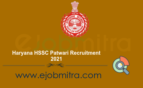 Haryana HSSC Patwari Recruitment 2021
