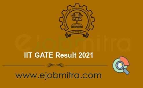 IIT GATE Result 2021
