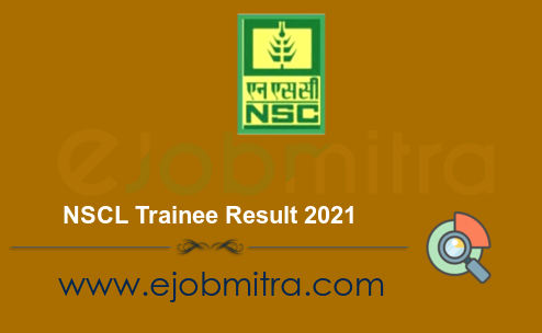 NSCL Trainee Result 2021