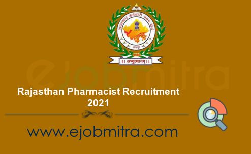 Rajasthan Pharmacist Recruitment 2021