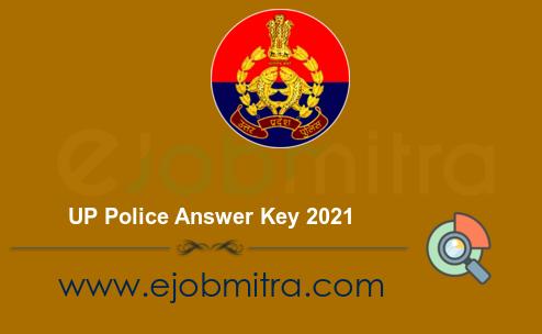 UP Police Answer Key 2021