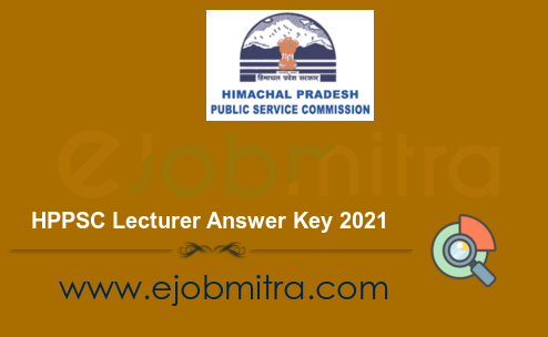 HPPSC Lecturer Answer Key 2021