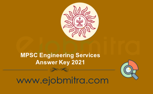 MPSC Engineering Services Answer Key 2021