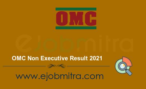 OMC Non Executive Result 2021