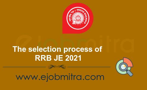 The selection process of RRB JE 2021