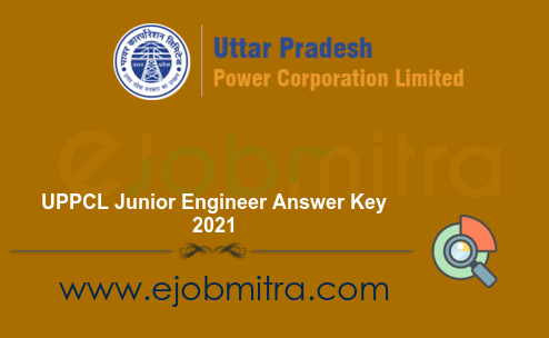 UPPCL Junior Engineer Answer Key 2021
